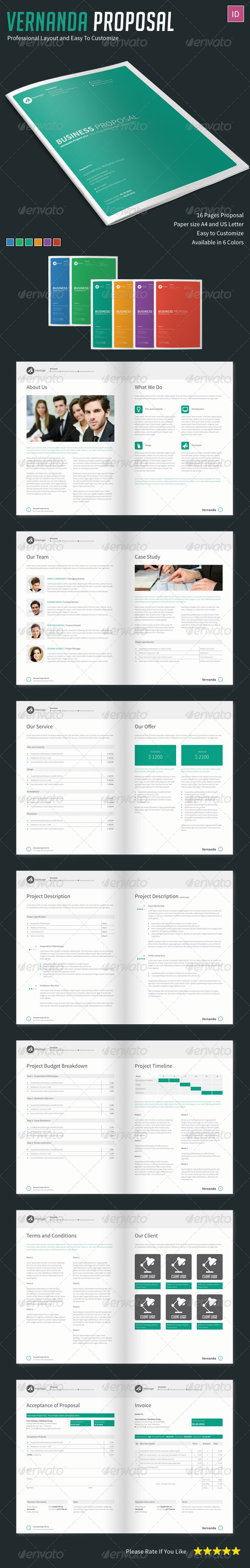 GraphicRiver Vernanda Proposal 7741692