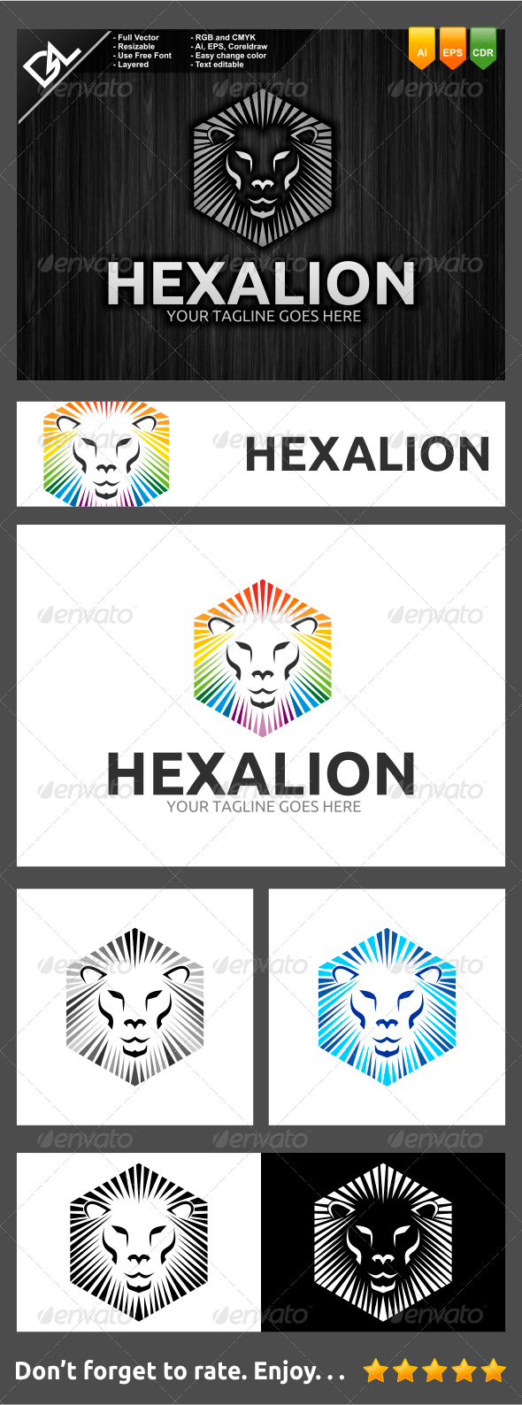 GraphicRiver Hexalion 7741695