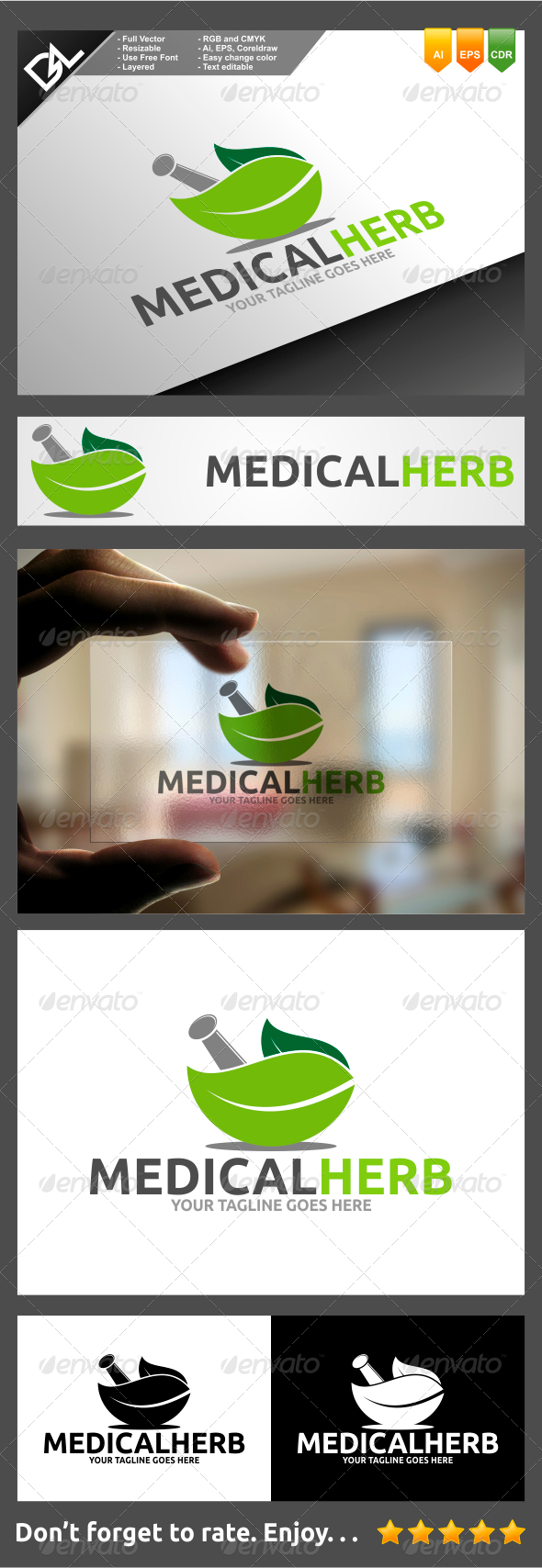 GraphicRiver Medical Herb 7742302