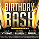 Birthday Bash Flyer v2 - GraphicRiver Item for Sale