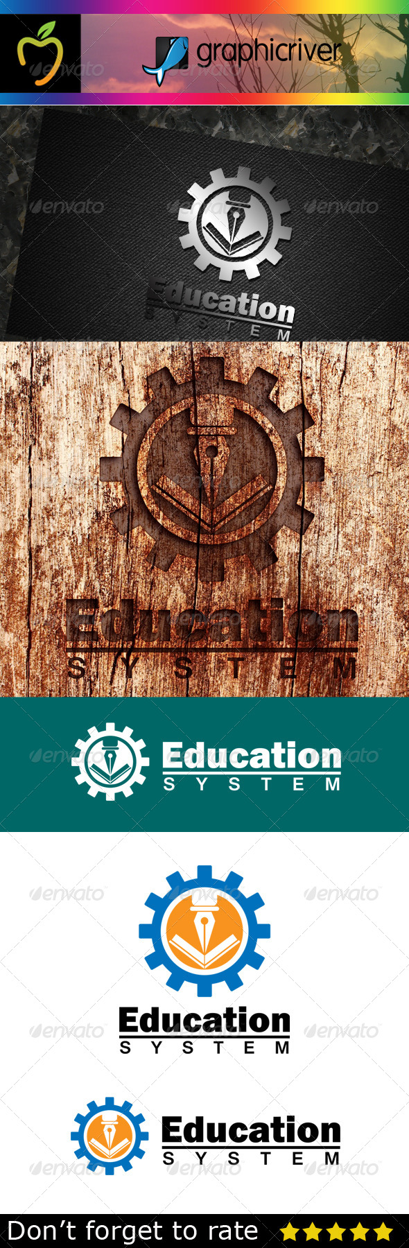 GraphicRiver Education Logo 7744341