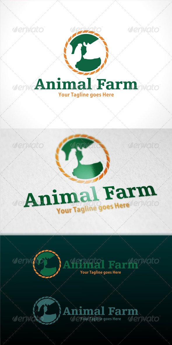 GraphicRiver Animal Farm Logo 7745632