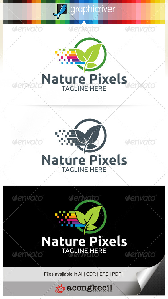 pixels 7746995 stock graphic logo template nature pure plant pixels