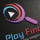 Play Finder Logo - GraphicRiver Item for Sale