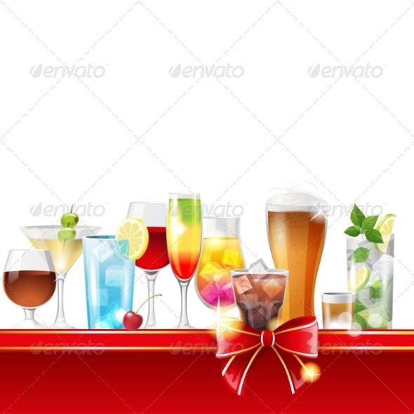 GraphicRiver Alcohol Cocktails 7747244