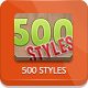 500 Photoshop Styles - GraphicRiver Item for Sale