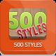 500 Photoshop Styles-Graphicriver中文最全的素材分享平台