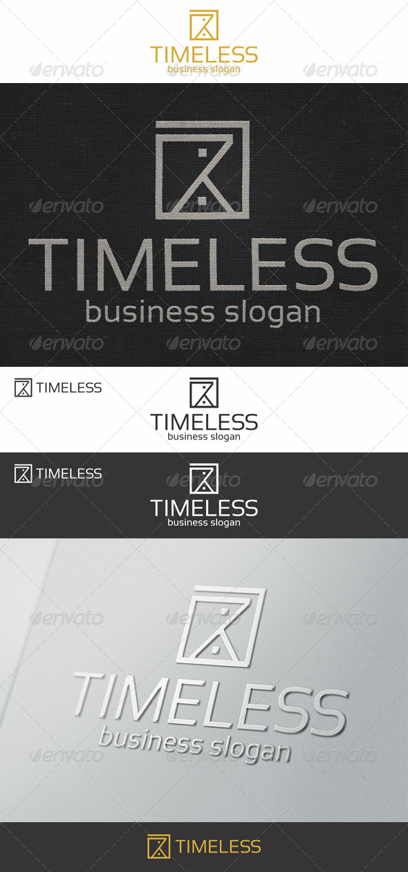 GraphicRiver Sand Clock Timeless Logo 7748141