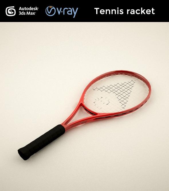 3DOcean Tennis racket 7748778