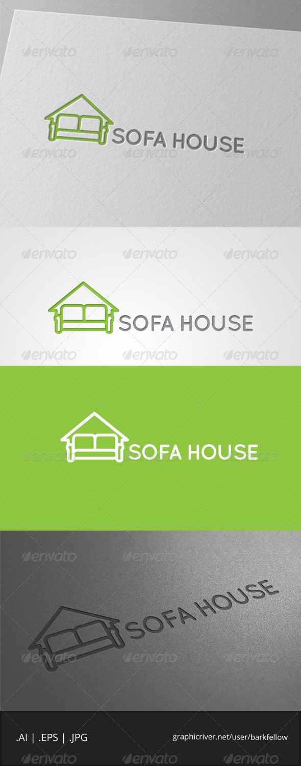 GraphicRiver Sofa House Logo 7004182