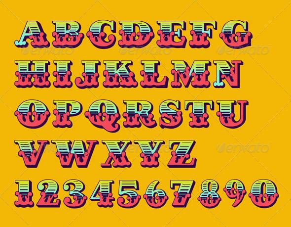 GraphicRiver Poster Alphabet 7748959