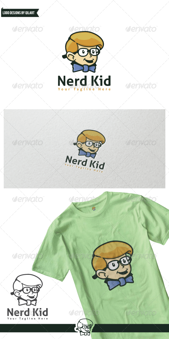 GraphicRiver Nerd Kid 7724484