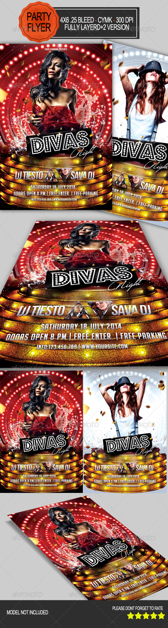 GraphicRiver Divas Night Party 7749027