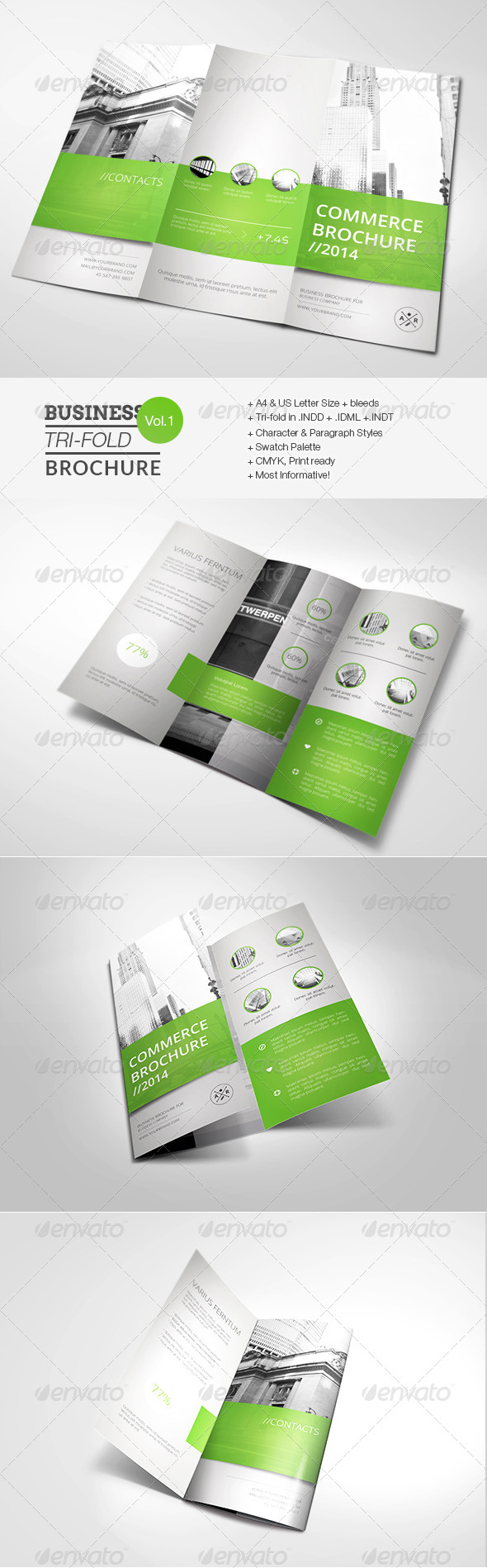 GraphicRiver Business Tri-fold Brochure 7749575