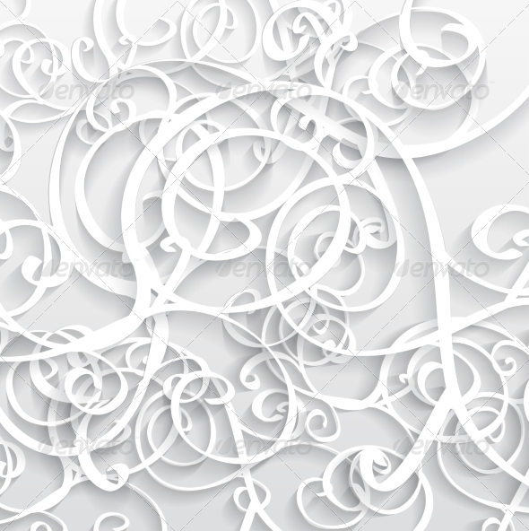 GraphicRiver Abstract Vector Background 3D 7750432