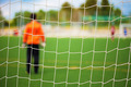 Goalkeeper with selective focus - PhotoDune Item for Sale