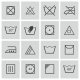 Vector Black  Washing    Icons Set - GraphicRiver Item for Sale