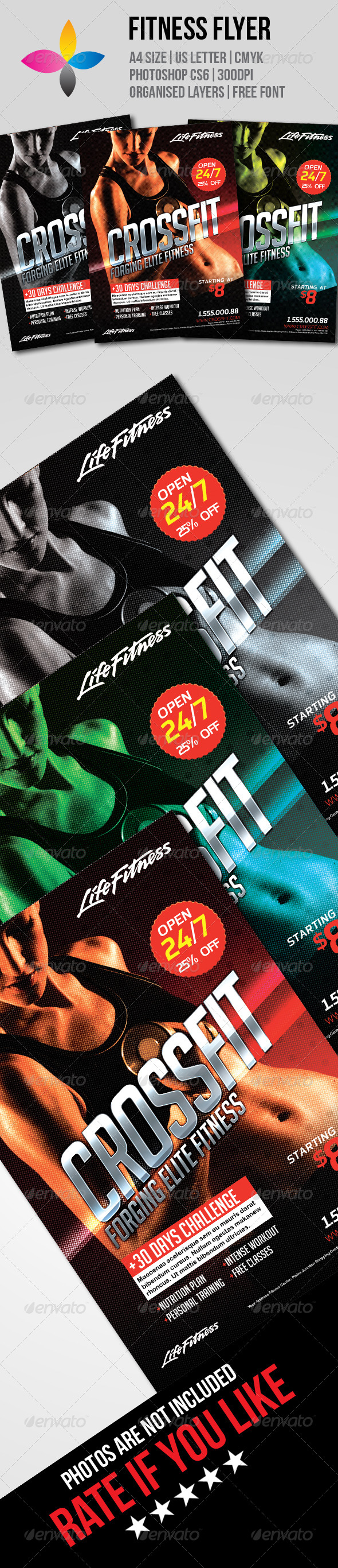 GraphicRiver Fitness Flyer 7751705
