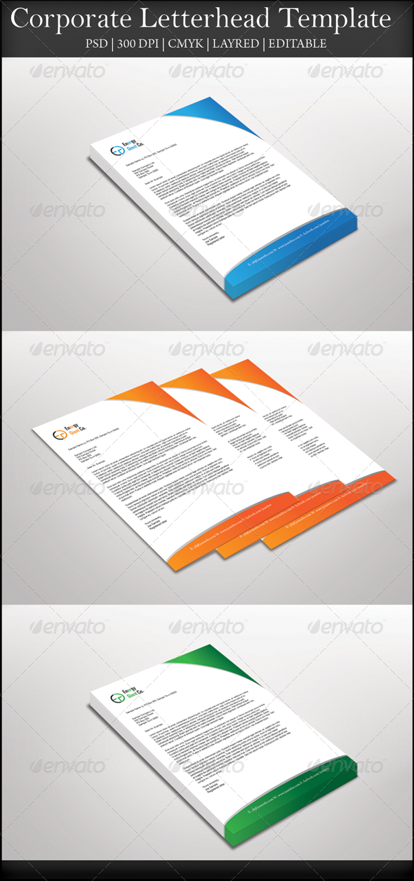 GraphicRiver Corporate Letterhead 7751752