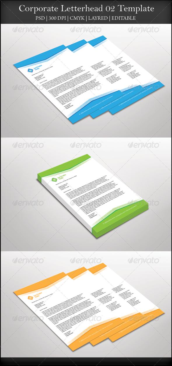 GraphicRiver Corporate Letterhead 02 7751753
