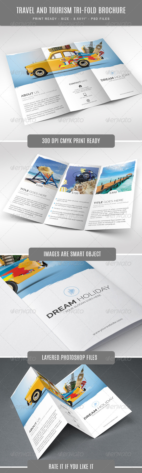 GraphicRiver Travel and Tourism Trifold Brochure 7751881