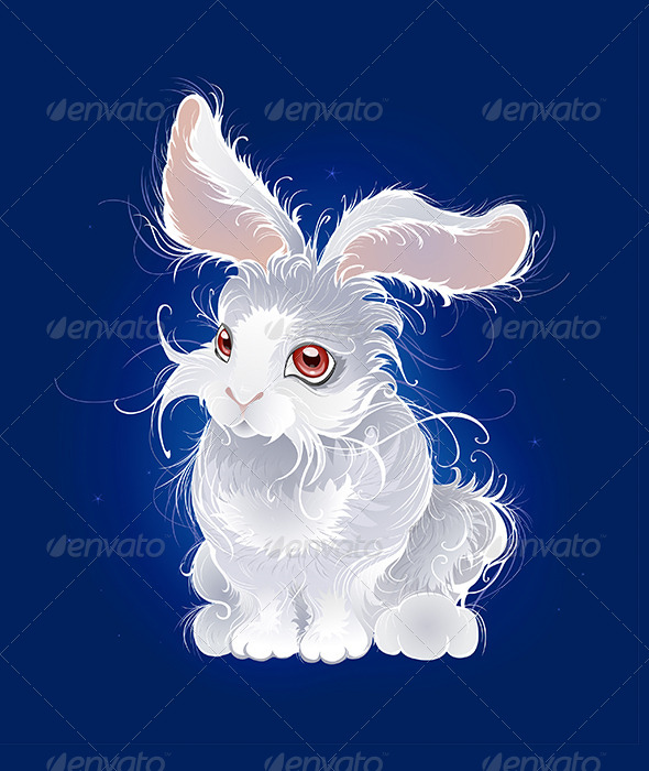 GraphicRiver Magic White Rabbit 7751898