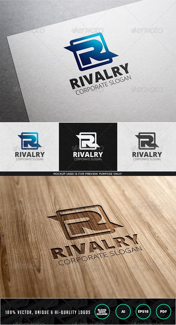GraphicRiver Rivalry Logo Template 7752098