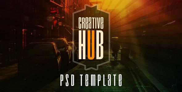 ThemeForest Creative Hub 7754216