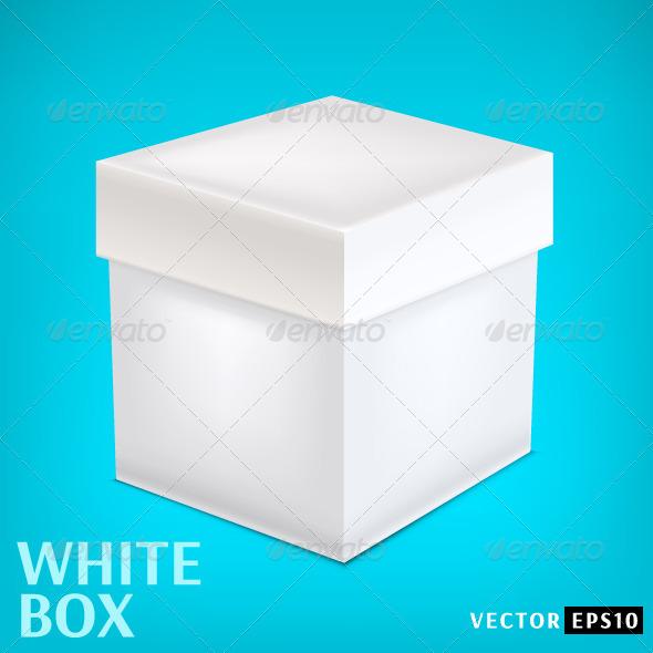 GraphicRiver White Paper Box 7754398
