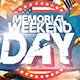 Memorial Day Weekend Party - GraphicRiver Item for Sale