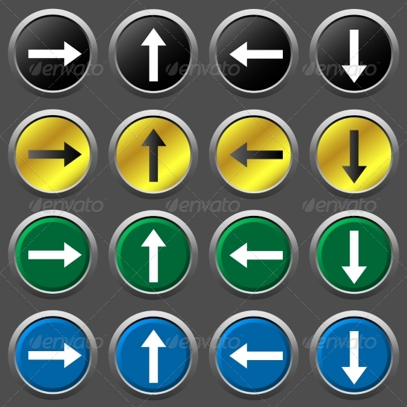 GraphicRiver Arrows Icon Set 7754851