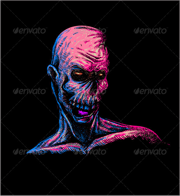 GraphicRiver Zombie Torso 7755852