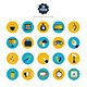 This is the Set of Icons for Mobile App and Web - GraphicRiver Item for Sale