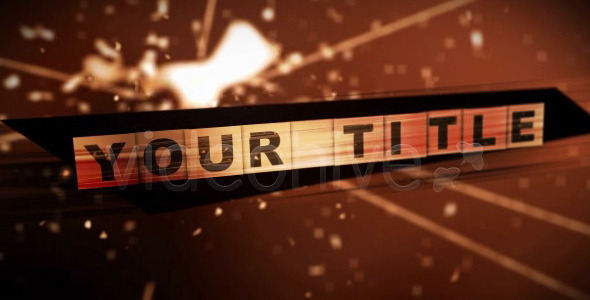 After Effects Project - VideoHive Destroyed Title 72570