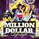 Million Dollar Lifestyle Party Flyer Template - GraphicRiver Item for Sale