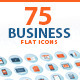 Set of Flat Design Business Icons - GraphicRiver Item for Sale