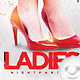 Flyer Ladies Night Party - GraphicRiver Item for Sale
