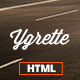 Ygrette | Multi-Purpose Parallax HTML Theme