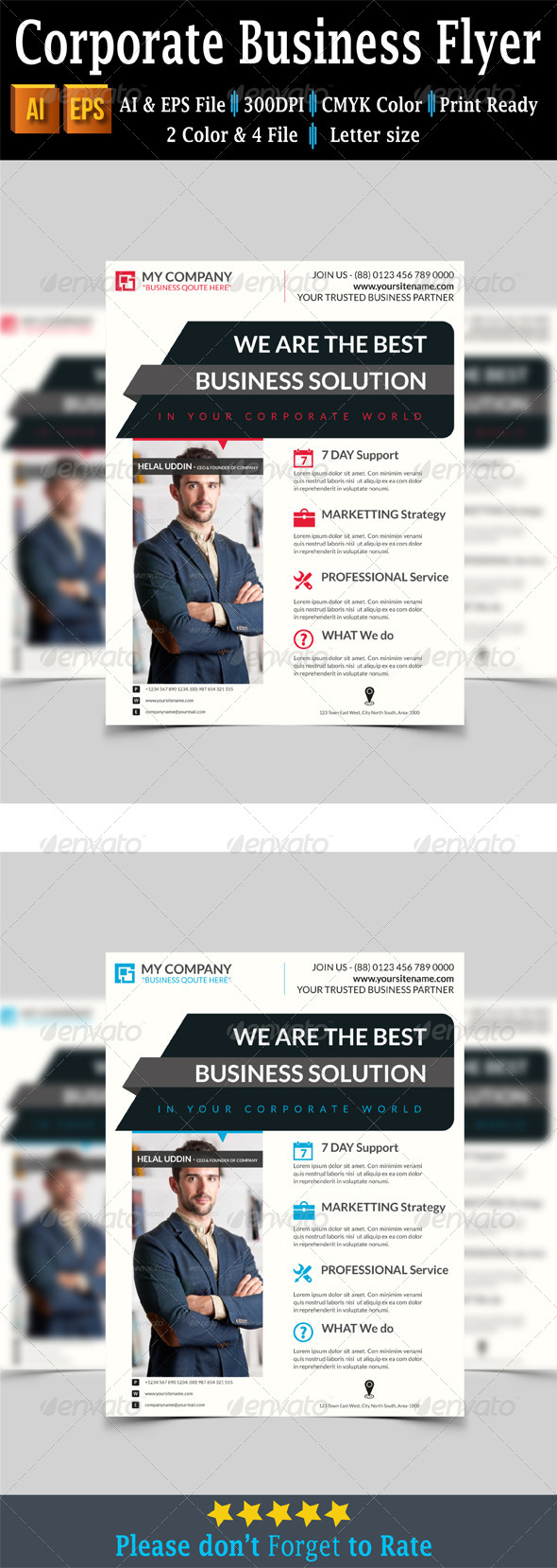 GraphicRiver Corporate Business Flyer 7760610