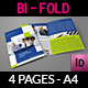 Company Brochure Bi-Fold Template Vol.28 - GraphicRiver Item for Sale