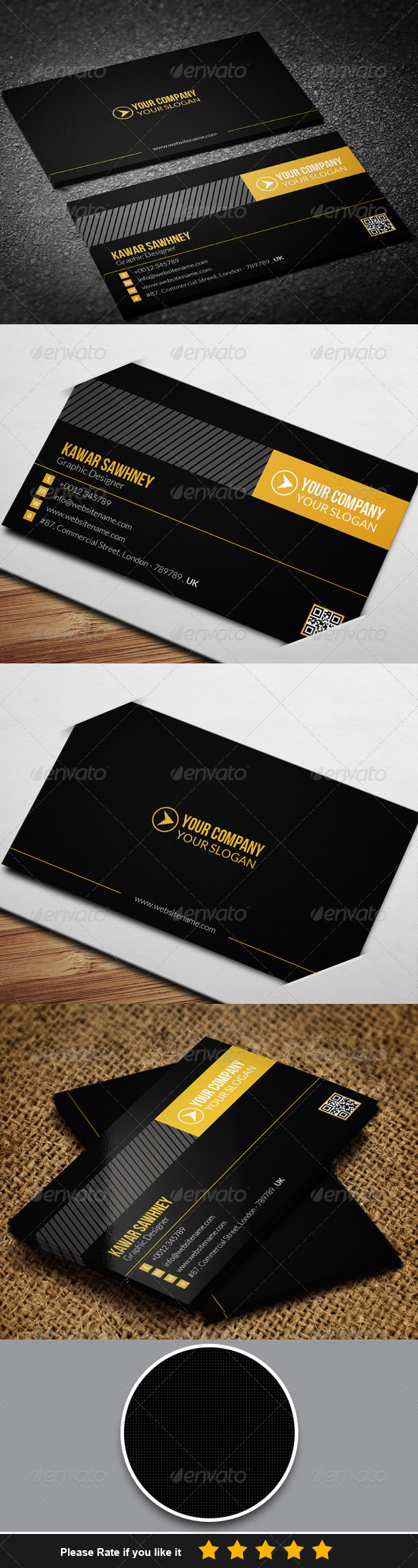 GraphicRiver Corporate Business Card 4 7762211