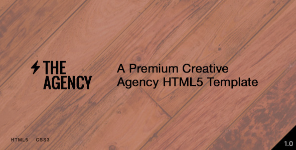 ThemeForest The Agency Responsive Agency Template 7762759