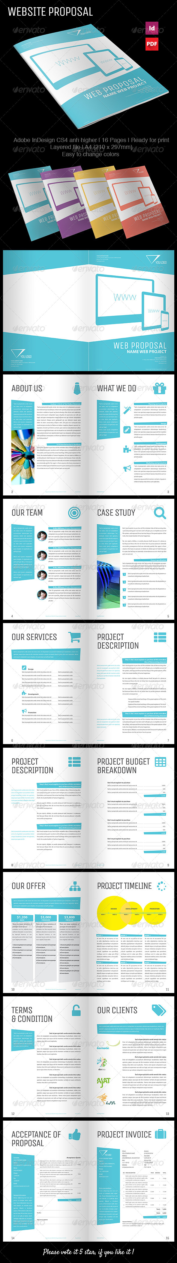 GraphicRiver Triangle Proposal Template 7762877