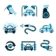 Car Wash Icons - GraphicRiver Item for Sale