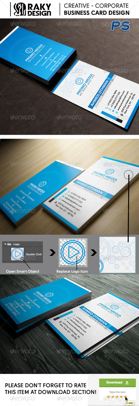 GraphicRiver Media Studio Business Card 18 7743235