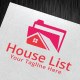 House List Logo Template - GraphicRiver Item for Sale