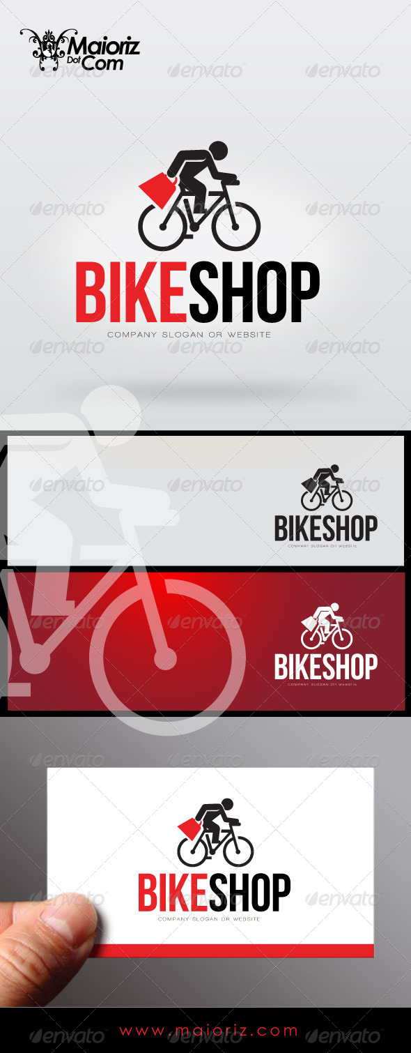 GraphicRiver Bike Shop Logo Template 7764050