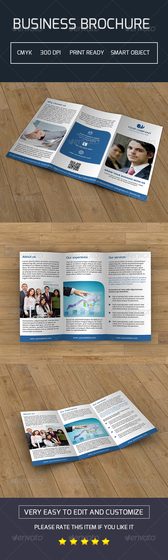 GraphicRiver Trifold Business Brochure-V04 7764381