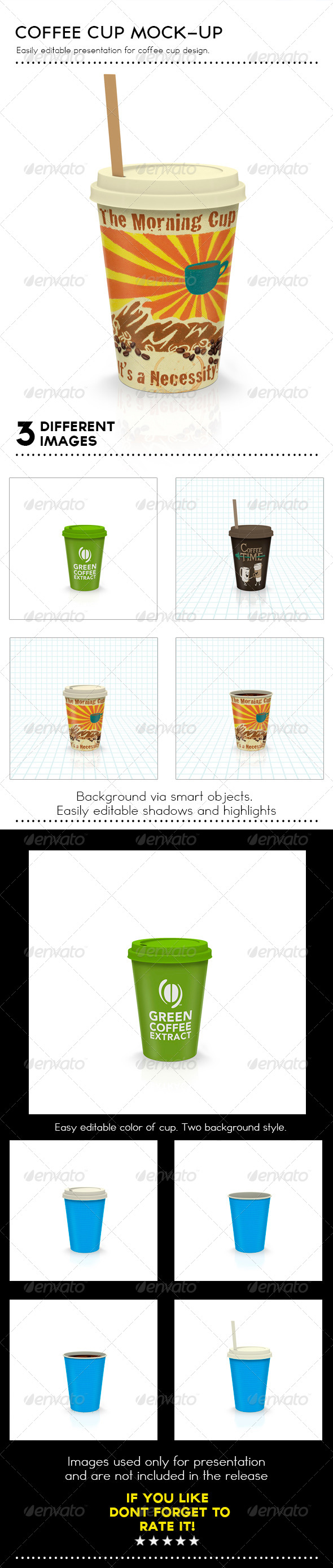 GraphicRiver Coffee Cup Mock-Up 7764482