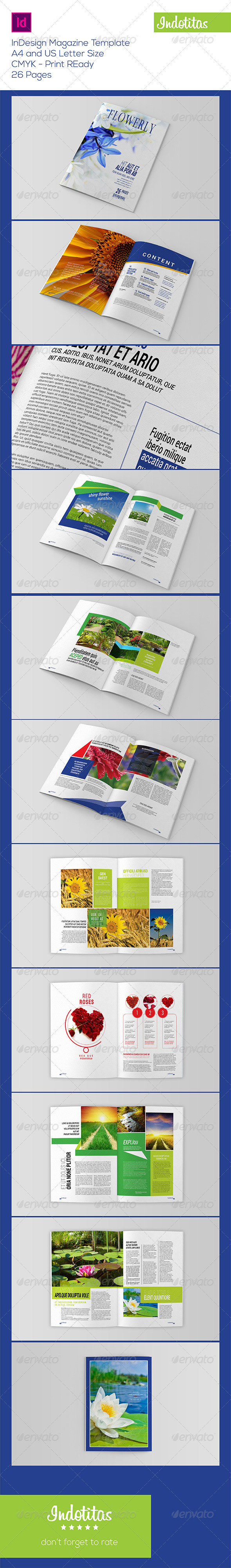 GraphicRiver InDesign Magazine Template 7764527